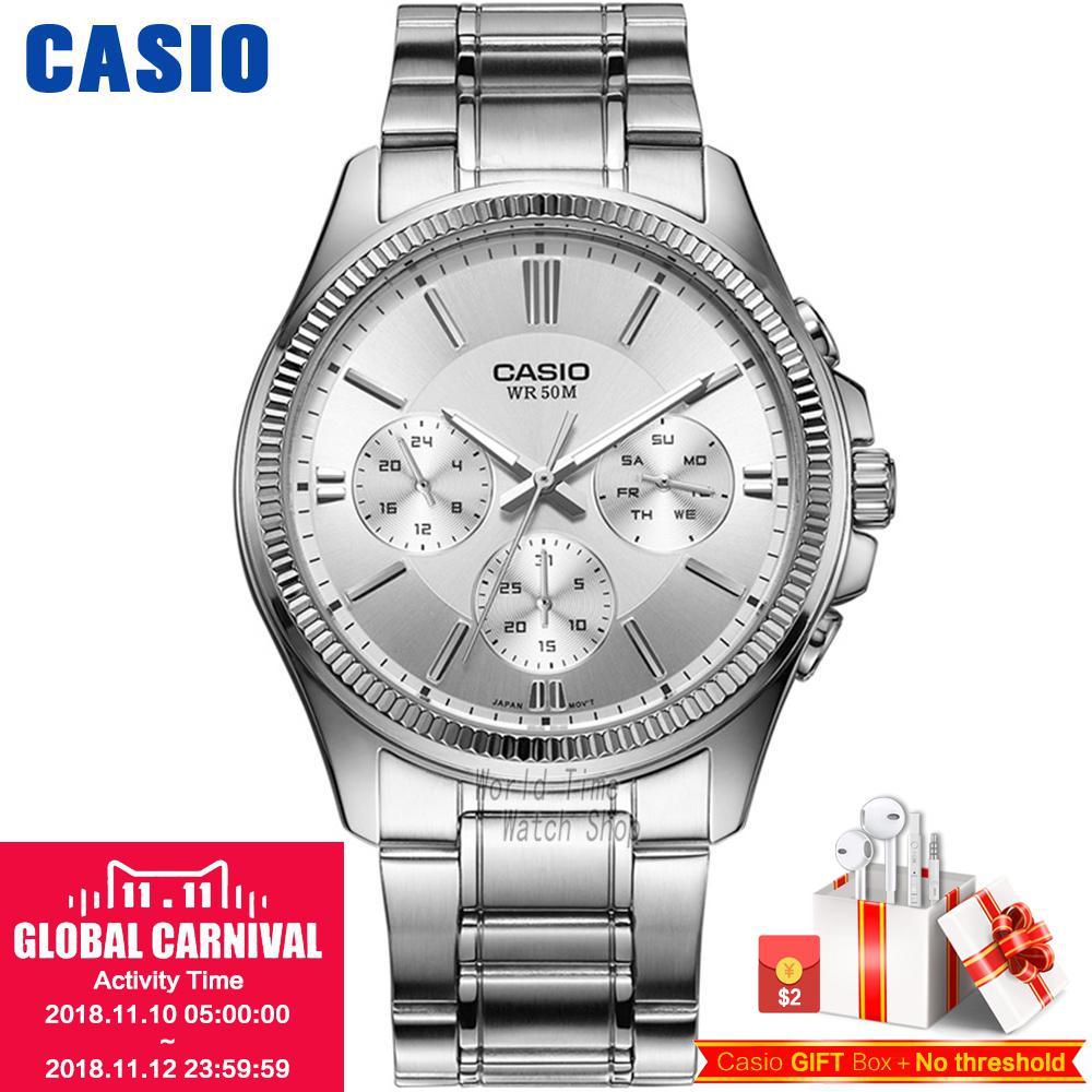 Casio montre Analogique Hommes de quartz montre de sport casual simple montre étanche MTP-1375