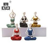 TANGPIN Coffee And Tea Tools Beauty Youga Ceramic Tea Accessories Handmade Chinese Kung Fu Tea Set