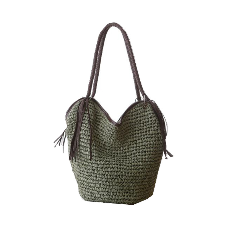 Knitting travel large beach bags women women tote for Designer beach bags and totes