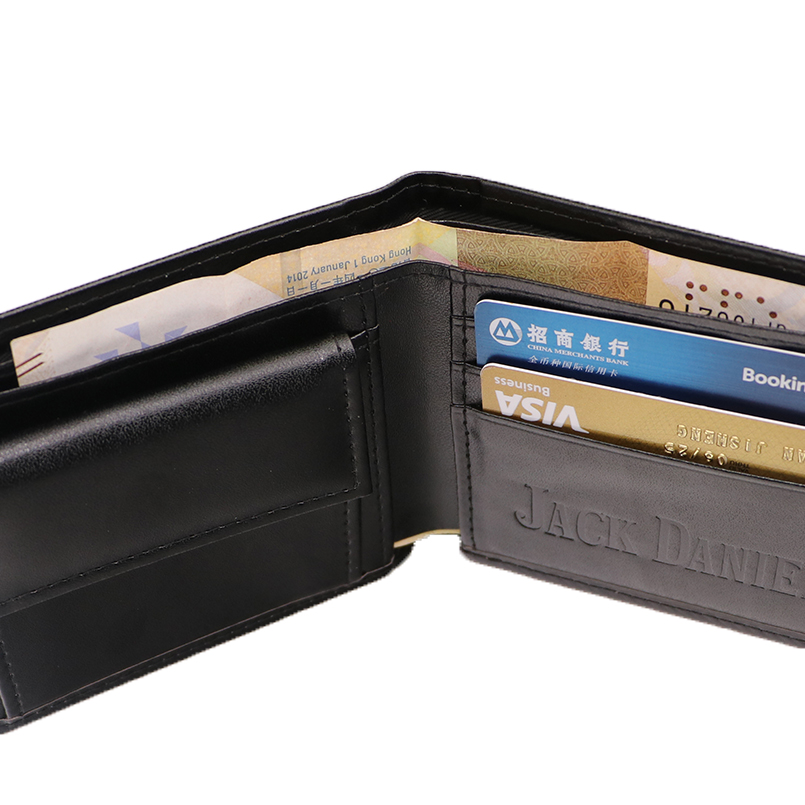 Jack Daniel's Black Whiskey Billfold Wallet (15)