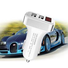 5V 2.1A LCD Dual USB Smart Auto Car Charger Adapter Charging For Sony Xperia XZ 2 Premium XA2 XA1 XZ1 XA1 Plus Car Phone Charger