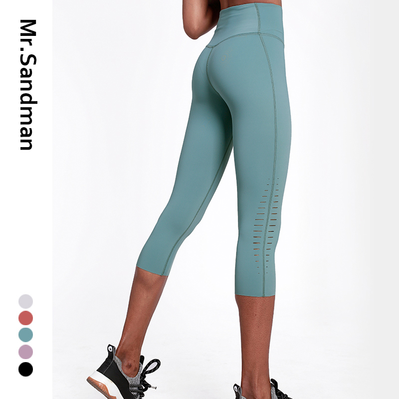 High waist leggings sport women fitness yoga capris workout gym legging skinny sport yoga pants hollow out athletic leggings