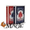 Bicicletas Jinete Volver 808 card poker/trucos de magia de la calle de cerca tarjeta profesional productos/Envío Libre