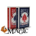 Bicycle Rider Back 808 poker card / close-up street professional card magic tricks products / Free shipping