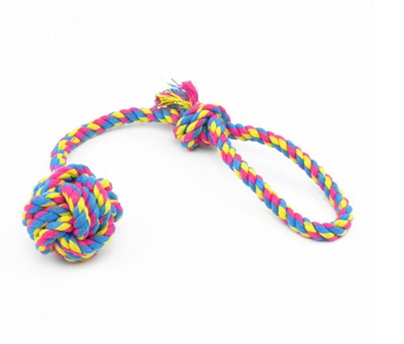 Dog Toys Pet Products Train,pet Toy,cat Toy 30x6cm Cotten Rope Molor Toy