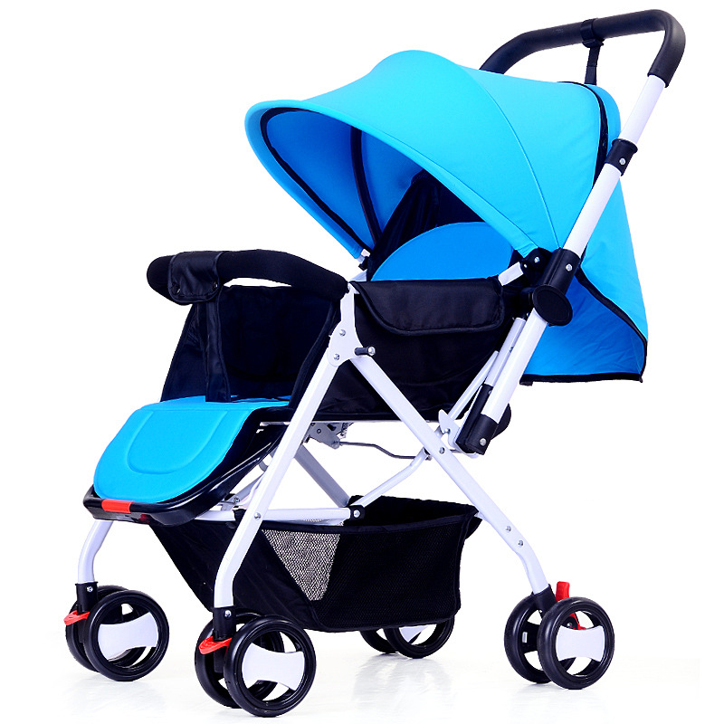 Portable Folding Baby Stroller Comfortable Umbrella Wheelchair Baby Trolley Fashion Light Travel Carry Baby Stroller 2016 portable light easy carry fashion children baby stroller four wheels foldable stroller carry bag 4 color for 0 36 month