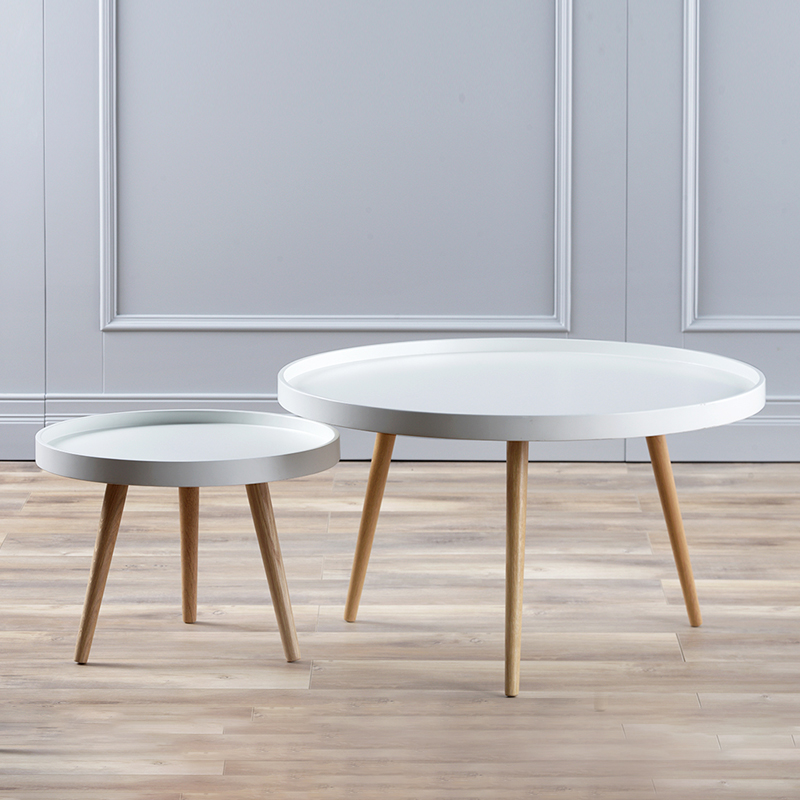 Minimalist Modern Living Room Furniture Coffee Table Round