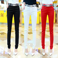 2017 new fashion female trousers straight suits pants for women clothing large casual pants navy blue with good quality