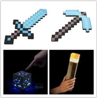 67417809a Gorący sprzedawanie zabawki Minecraft miecz EVA Action Figures dla dzieci  prezenty. Hot Selling Minecraft Toys Minecraft Sword EVA Model Toys Action  Figures ...