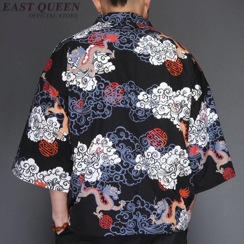 379b5f15d Yukata haori hombres kimono japonés cardigan hombres samurai traje ropa  kimono Chaqueta Hombre kimono camisa yukata haori AE008