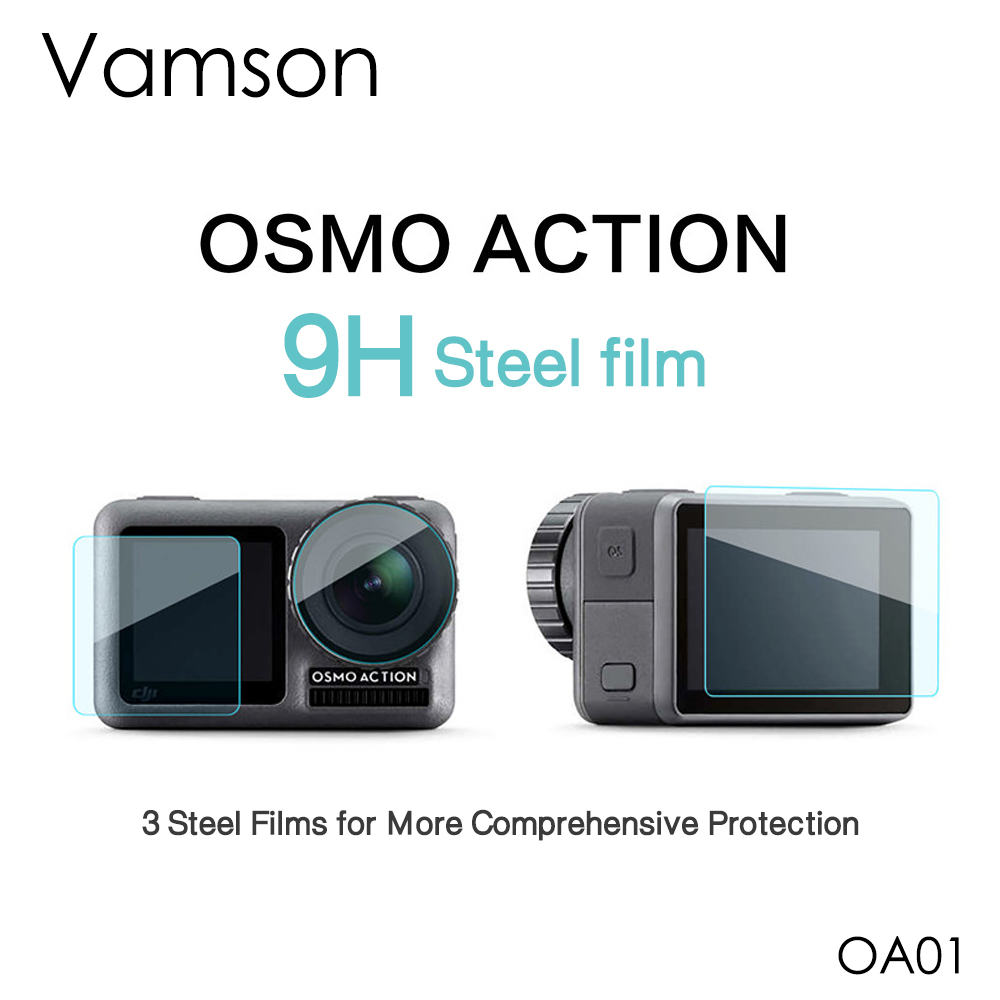 Real Screen Protector Tempered Glass Protective Film For DJI OSMO Action Camera