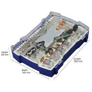 Image 5 - 268Pcs מיני מקדח סט כלי שפשוף לטחינת מלטש ליטוש חיתוך כלי ערכת עבור Dremel אביזרי סט