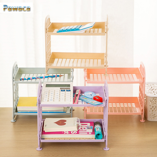 Plastic Small Storage Shelves Rack Mutifunctional 2 Layer Kitchen Bathroom Storage  Shelves 2 Tier Corner Shelf