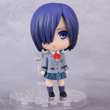 Anime Tokyo Ghoul Figure 10cm Q Version Kirishima Touka Cosplay PVC Action Figures Collectible Model Toys Dolls With Box
