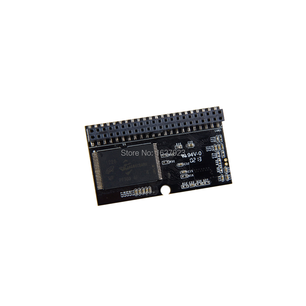Industrial 32gb Hs Pata Ide Dom 44 Pin Horizontal Type Mlc Flash Flashdisk Atm Disk On Module For Thin Client Micro Pc Device In Internal Solid State