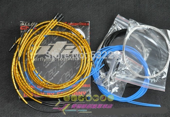 10sets High Quality Light Alloy Brake Cable Jagwire Mtb Road Bike