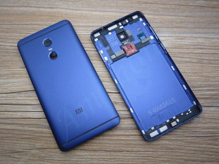 imágenes para Nuevo Para Xiaomi Redmi Nota 4 Contraportada de La Batería de Piezas de Repuesto Vivienda cubierta de La Puerta + Botones Laterales + Lente de La Cámara Flash reemplazo
