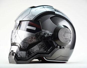 Masei War Machine серые мужские женские IRONMAN железный человек шлем мотоциклетный шлем половина шлем открытый шлем ABS шлем мотокросс
