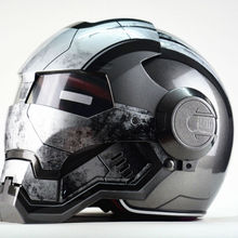 Masei War Machine Gray Mens womens IRONMAN Iron Man helmet motorcycle h