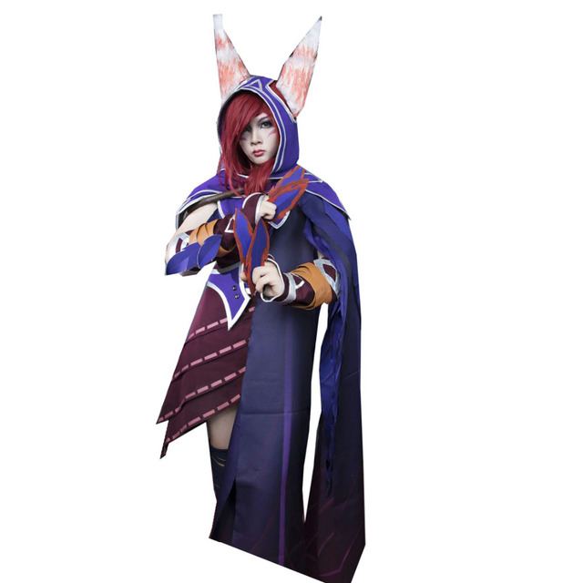 2018 Game LOL Hero Xayah The Rebel Cosplay Comic Con Party Halloween Christmas Cosplay Costume Full  sc 1 st  AliExpress.com & 2018 Game LOL Hero Xayah The Rebel Cosplay Comic Con Party Halloween ...