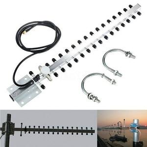 Image 1 - 2.4Ghz Wifi Antenne 25dBi Rp Sma Outdoor Draadloze Yagi Antenne Directionele Booster Versterker Modem Kabel