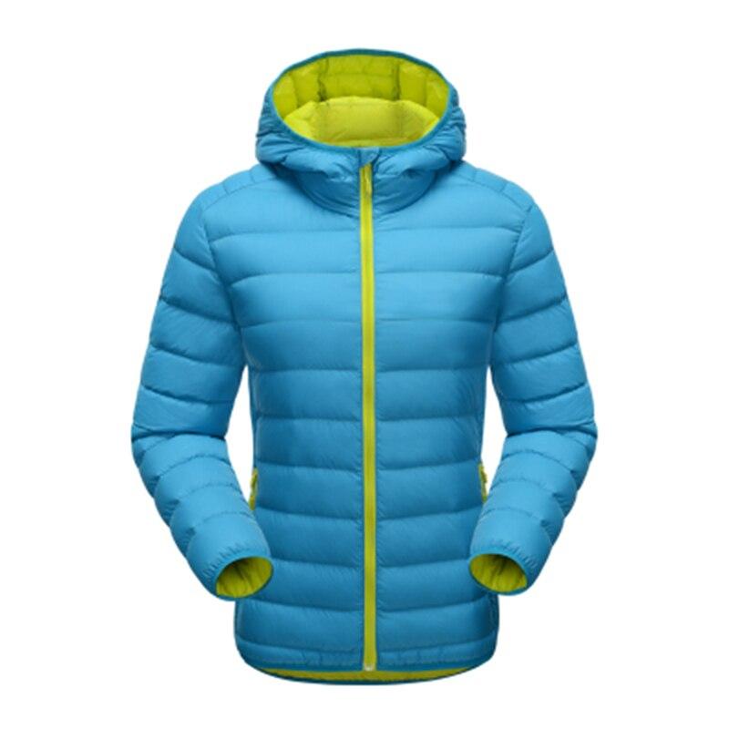 ФОТО 2016 New Winter Women Hooded Warm Coat Parkas 90% White Ultra Light Duck  Women's   Down Jacket
