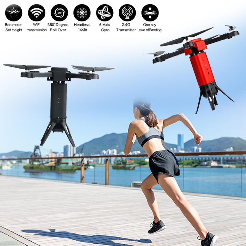 BP118 Mini Done With Camera 2MP Camera RC Quadcopter Selfie Drone RC Quadrupter Helicopter Aircraft FPV APP Remote Control Toys jjr c jjrc h43wh h43 selfie elfie wifi fpv with hd camera altitude hold headless mode foldable arm rc quadcopter drone h37 mini