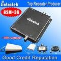 GSM 900 МГц UMTS 2100 МГц Dual Band Усилитель Сигнала GSM 3 Г Сотовый телефон Booster Repeater Усилитель с 2 комнатную антенну для Большой Площади