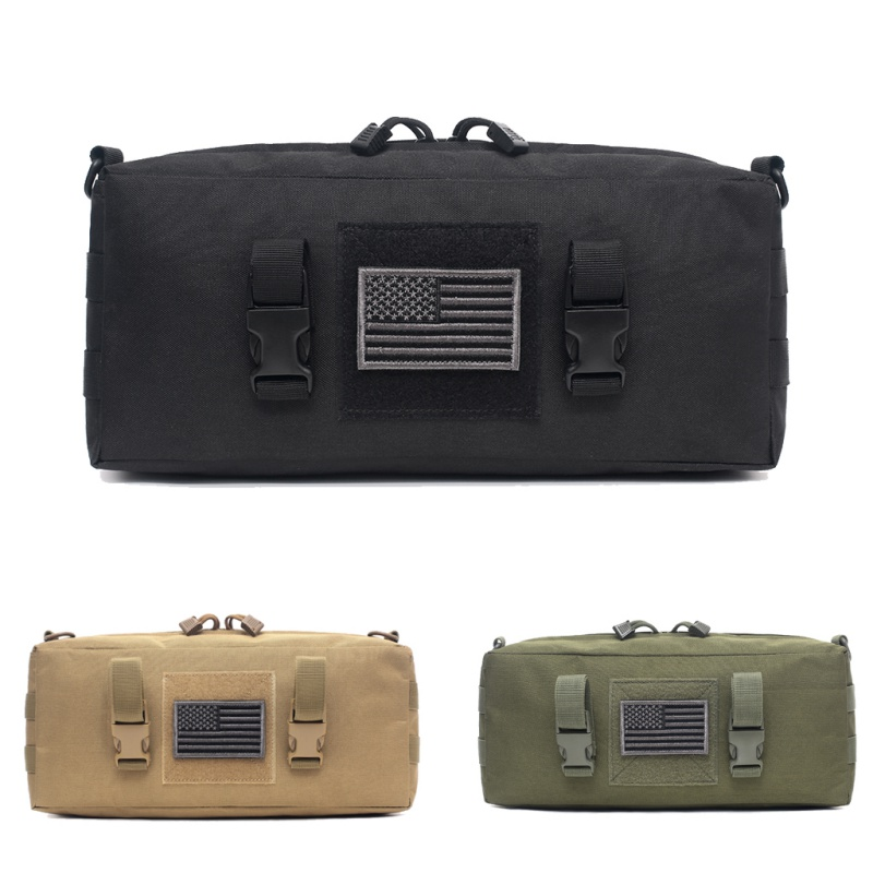 Tactical Military Camping Hiking Pouch Bag Waterproof Shoulder Bag Oxford Outdoor Climbing Bags