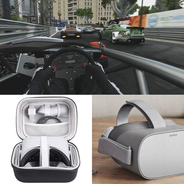 2018 plus récent voyage poche de transport housse de protection pour Oculus Go VR casque/Samsung Gear VR casque et accessoires