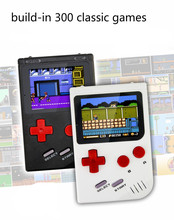 Para gameboy portátil 2.5 polegadas tela colorida consoles de jogos de vídeo 300 em 1 jogos clássicos jogador de jogo handheld