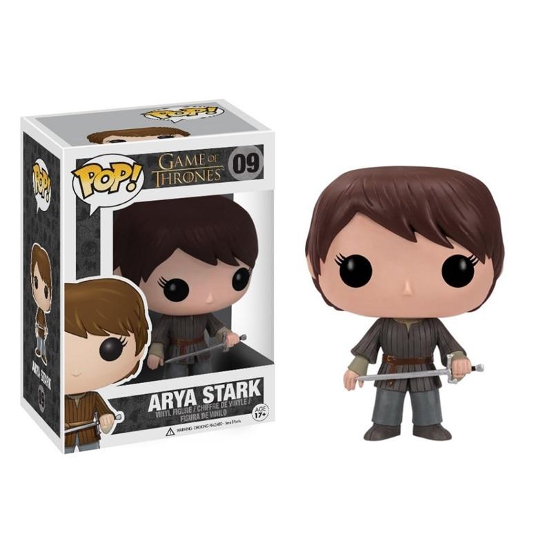 Funko pop <font><b>Game</b></font> <font><b>of</b></font> <font><b>Thrones</b></font> <font><b>Arya</b></font> <font><b>Stark</b></font> <font><b>Action</b></font> <font><b>Figure</b></font> Doll Toy