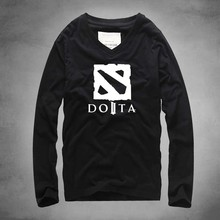 v neck dota t-shirt men fit male t shirt men long sleeve cotton mens Tshirts fashion 2016 tshirt homme tee shirt homme de marque