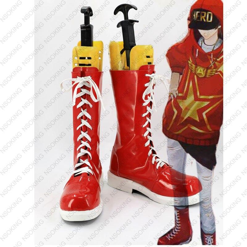 Persona 5 Goro Akechi Cosplay Schuhe Stiefel Maßgeschneiderte-in Schuhe aus Neuheiten und Spezialanwendung bei AliExpress - 11.11_Doppel-11Tag der Singles 1