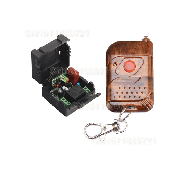 Mini Size 220V 1CH Wireless Radio Remote Switch For Light Lamp LED SMD ON OFF 315Mhz/433Mhz 220v 1ch radio wireless remote control switch light lamp led on off 12 receivers