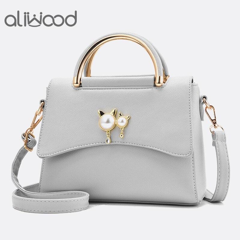 769fc2d74d98 Aliwood повседневная женская сумка маленькая сумка через плечо кожаные женские  сумки элегантные женские сумки через плечо