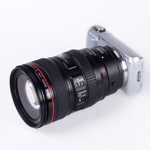 Image 2 - FOTGA elektronicznych na stronie obiektyw z automatyczną regulacją ostrości Adapter pierścień do canona EOS EF EF S do Sony E NEX A7 A7R A7S A9 A6300 A6500 obiektyw pełna rama