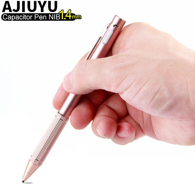 Aktywny długopis pojemnościowy ekran dotykowy dla Teclast Tbook 10s T10 P80H 98 Octa X10 X98 HP Elite X2 G1 g2 Tablet rysik NIB1.4mm