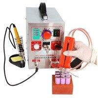 Sunkko 709A 2 in 1 1.9kw LED Pulse Battery Spot Welder Machine Kit Spot Welding with Soldering Iron for 18650 16430 14500 Back