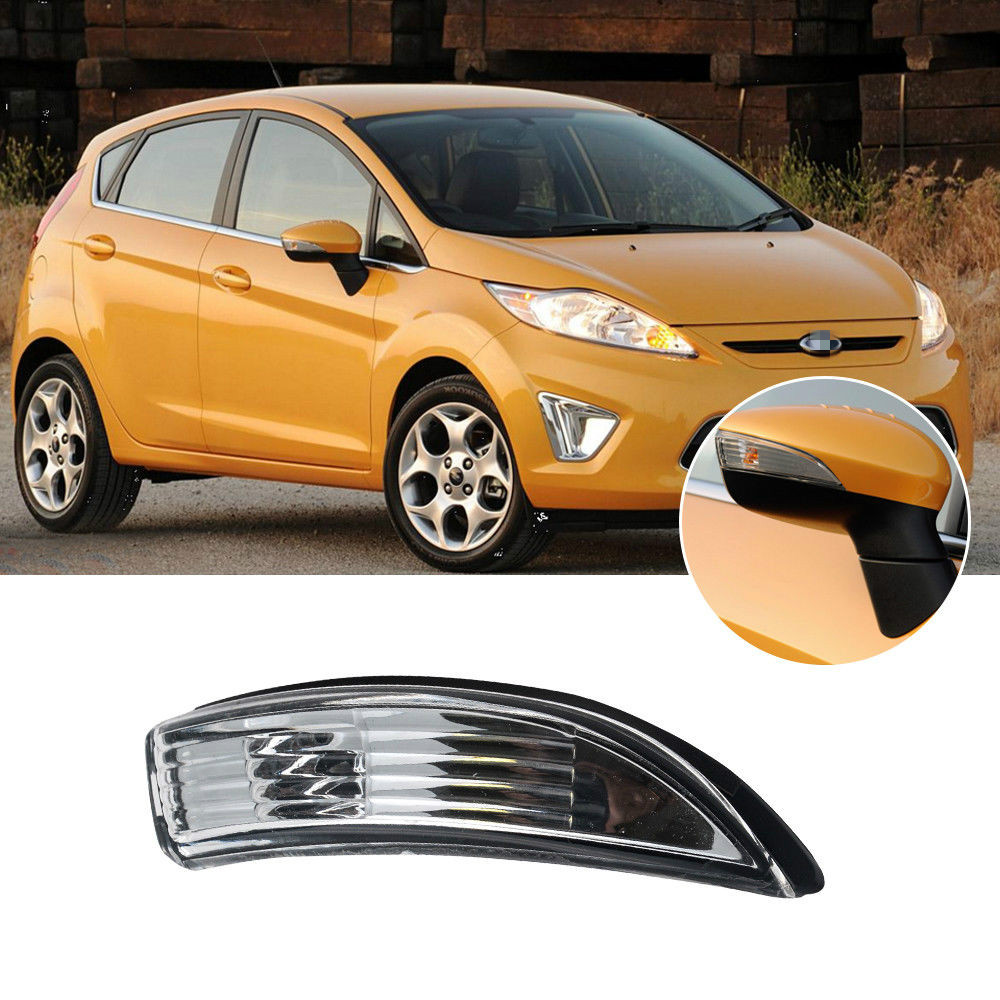 Car Wing Mirror Indicator LED Turn Signal Light Cover Case For Ford Focus Right