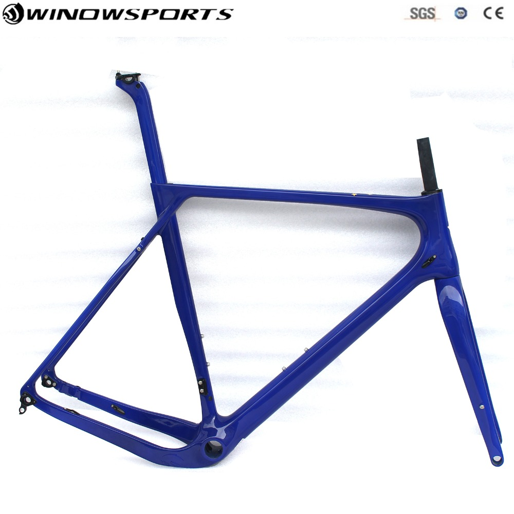 2018 GRAVEL Bike Frame Flat mount Carbon Road MTB  Full Carbon Bicycle Frame Cyclocross Disc Frame With Thru Axle Gravel bike