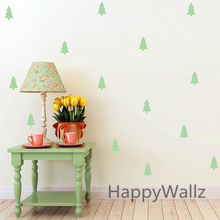 Cute Tree Wall Sticker Baby Nursery Tree Wall Decal DIY Easy Wall Stickers Kids Room Decors Removable Wall Decoration P10