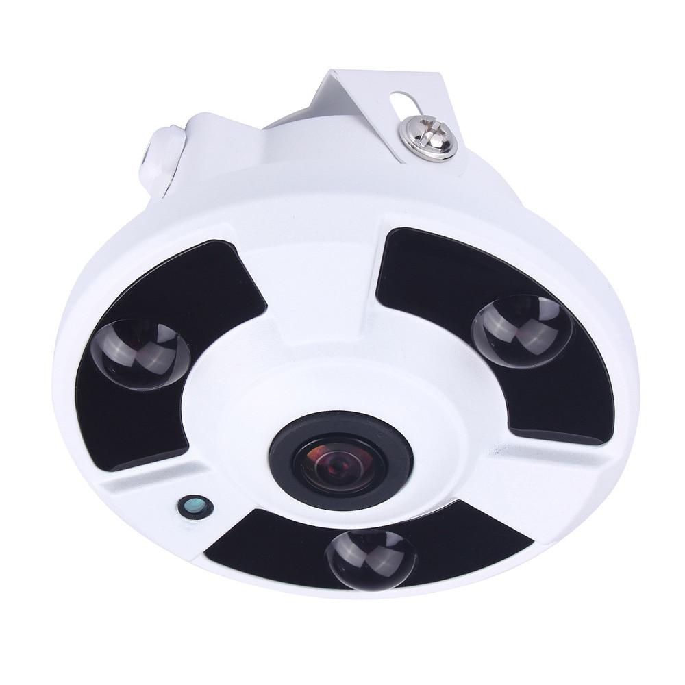 Hamrolte H.265 IP Camera 1.7MM Fisheye Lens 5MP 3MP 2MP Panoramic ONVIF IP Camera Xmeye Could Phone View DC12V POE48V OptionalHamrolte H.265 IP Camera 1.7MM Fisheye Lens 5MP 3MP 2MP Panoramic ONVIF IP Camera Xmeye Could Phone View DC12V POE48V Optional