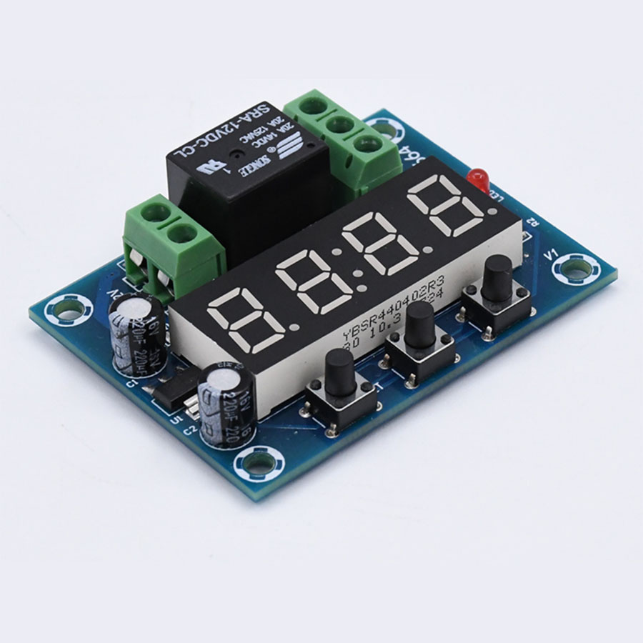 1-159 Minutes Countdown Timer Normal Open / Normal Close Powered By 12V 110-240V At Your Choice