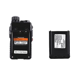 Image 4 - Baofeng UV 3R + usb充電器ミニトランシーバーuv 3Rプラス子供2ウェイラジオUV3R + vhf uhfラジオcomunicadorトランシーバー トランシーバーamador
