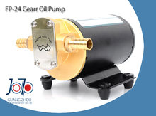 610 FP24 24V DC On-board Electric Gear Oil Marine Pump For Oil Sucking