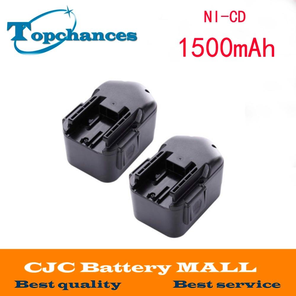 2 Battery 14.4V 48-11-1014 48-11-1024 for Milwaukee 9083-20 14.4 Volt Power Plus