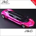 Envío gratis 1:32 Metal de la aleación Diecast modelo de coche de juguete miniatura del modelo de escala de luz y sonido emulación de coche eléctrico