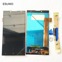 ESUWO LCD Display With Touch Screen For Prestigio Grace Q5 PSP5506 DOU PSP 5506 PSP 5506DUO