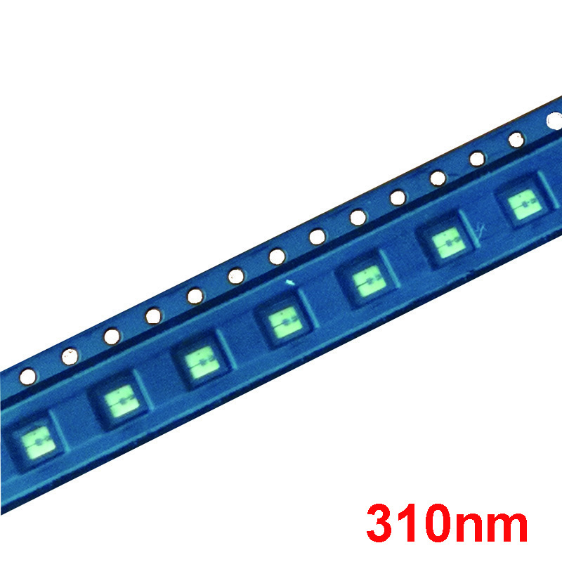 Lumiwell UVC LED Diode 310nm UV Light Beads SMD 3535 LED Light Chip Ultra Violet lamp DUV led package Light Source uv led diode 275nm uvc led smd 3535 270nm 285nm chip ultra violet light beads uv led diode deep uv for lamp